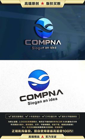 X字母企业LOGO设计