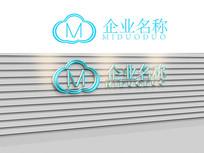 创意云朵logo标志公司商标设计