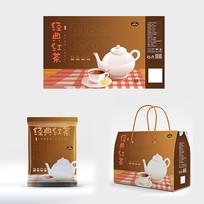 红茶饮品包装设计