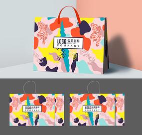 创意日本料理店手提袋设计