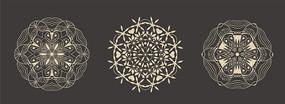 原创创意复古花纹设计