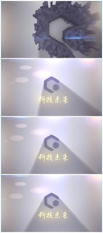 简洁e3dlogo片头视频模板