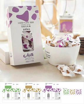 牛轧糖包装设计