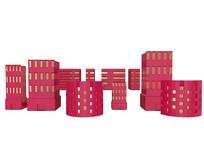 原创城市大厦模型