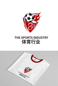 体育周年纪念徽logo