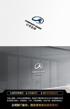 字母K康复太极中国风LOGO标志设计