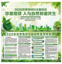 2020世界地球日宣传展板设计