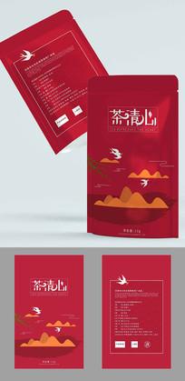 自封袋茶叶包装设计