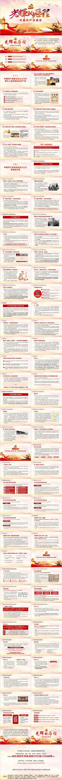 光辉的历程中国共产党党史PPT