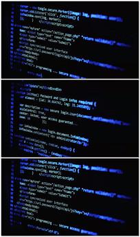 计算机编码过程编码开发数据处理视频素材