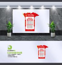 中国共产党廉洁自律准则文化墙