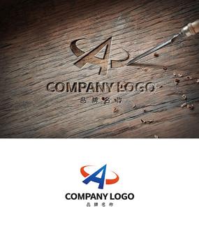 创意A字LOGO商标设计
