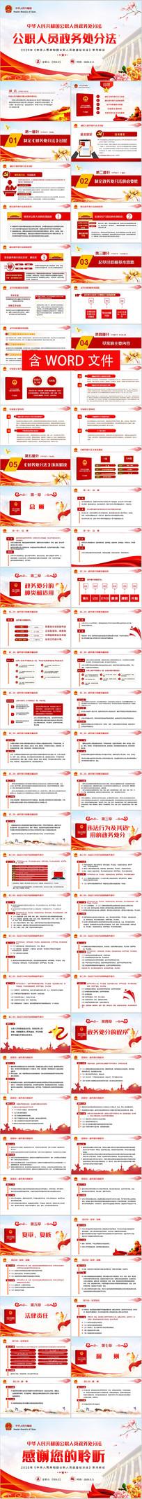 公职人员政务处分法解读党政党建党委党组