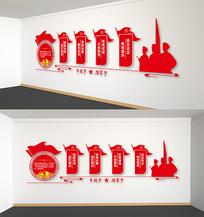 中国梦强军梦文化墙
