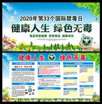 2020国际禁毒日展板