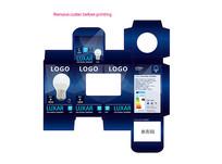 LED调光球泡灯英文包装彩盒