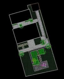 二连建筑庭院设计