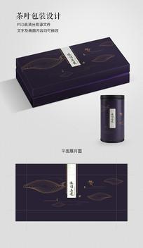 简约中国风乌龙茶包装设计