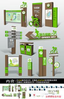 景区公园VI导视牌设计