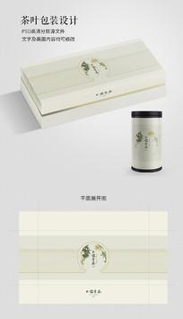 中国风青茶茶叶包装设计
