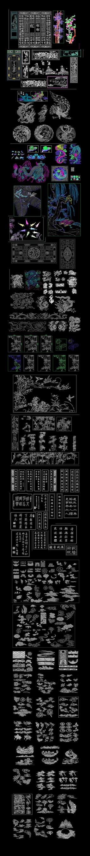 中式古典CAD图案