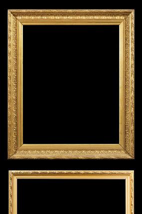中式花边框金色相框木框架金属字画框照片墙