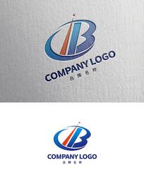 创意字母B科技LOGO设计