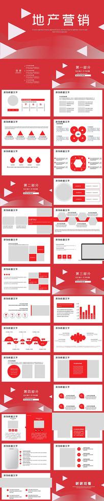 地产营销策划方案PPT模板