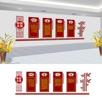 中医文化形象墙设计