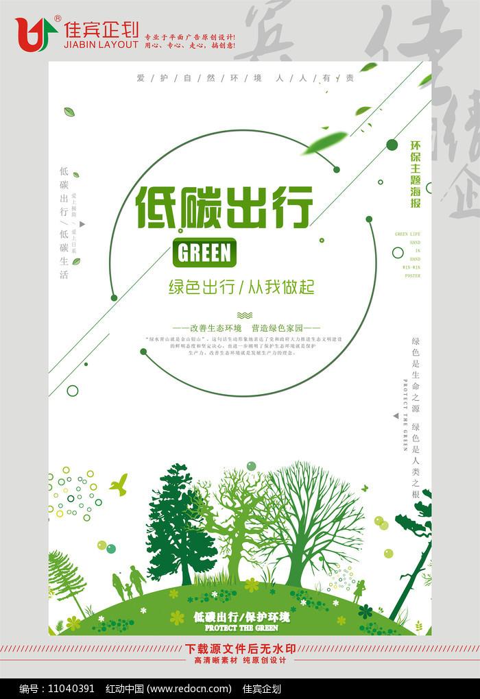 环保宣传海报设计图片