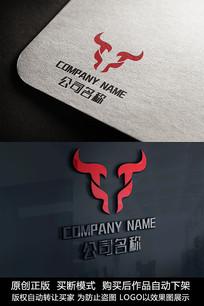 牛logo标志公司商标设计