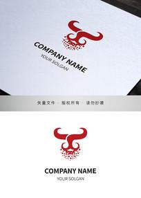 银屑牛皮癣标志设计