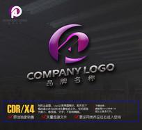 HO字母logo设计