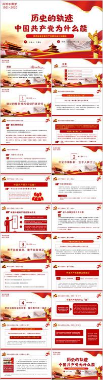 党建党史国史党课中国共产党为什么能PPT