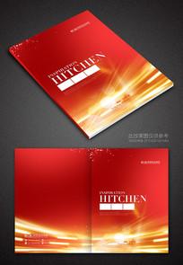 红色画册封面设计模板