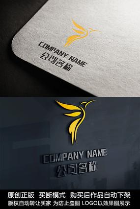 小鸟logo标志公司商标设计