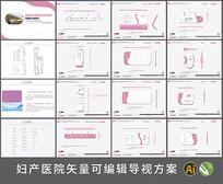 妇产医院导视系统VI设计