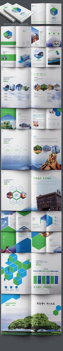 大气科技公司宣传画册设计