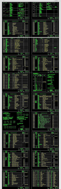 CAD常用电器符号建筑标识图例电路