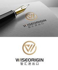 高端商务简约logo设计