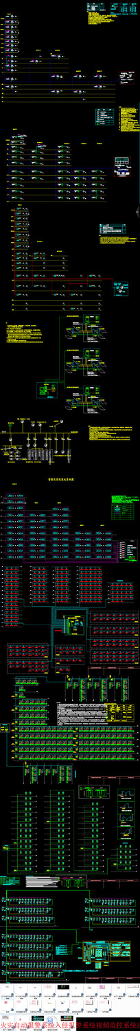 火灾自动报警系统入侵报警系统视频监控系统