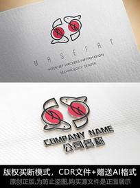 鱼儿logo标志公司商标设计