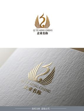 财富公司LOGO设计