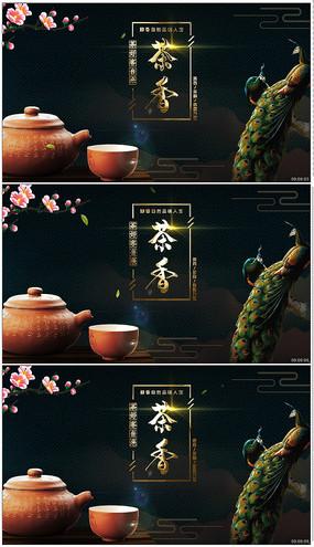 茶叶广告片头AE模板