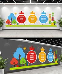 儿童教育机构文化墙设计