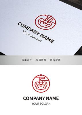 高字文化发展类企业标志设计