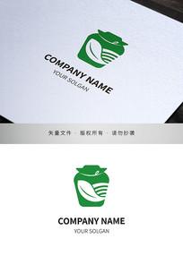酱菜菜坛食品类标志设计