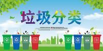 垃圾分类环保海报
