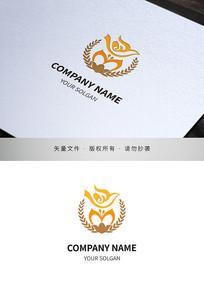 木棉花校徽设计