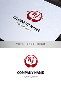 拳击搏击俱乐部类标志logo设计